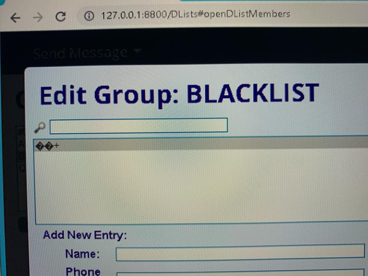 BLACKLIST