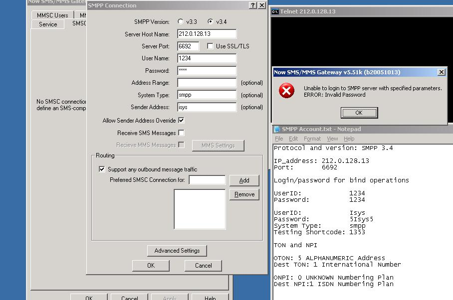 SMPP ERROR CODES PDF