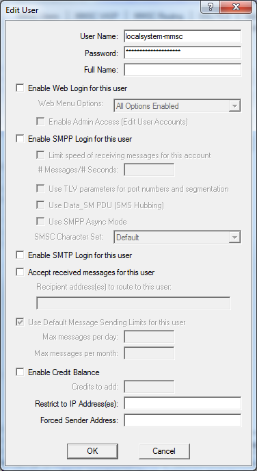 Choose SMPP connection for MMS notifications